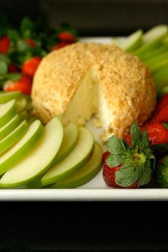 ... Cheese, Dessert Cheese Ball, Cheese Ball Recipe, Nilla Wafer, Finger
