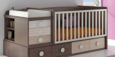 cunas en madera para bebes modernos