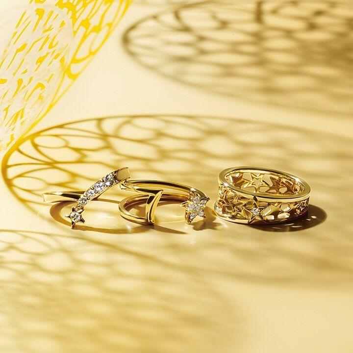 気分が上がる星モチーフのピンキーリング。小指のきらめきが毎日を明るくしてくれそう♪ 9/8(水)〜12(月)まで、スタージュエリー ルミネ各店(横浜・大宮・北千住)では、ルミネカードでのお買い上げで10%OFFに。 #starjewelry #スタージュエリー #ピンキーリング