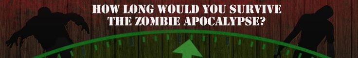 How Long Would You Survive the Zombie Apocalypse? One month? You've got to be kidding me.