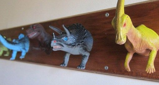 Toy Dinosaur Coat Rack