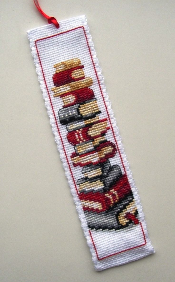 Vervaco Stack of Books bookmark.