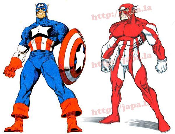 「キャプテン・ジャパン」- アメコミの王様マーベルコミックスには 旭日旗コスチュームを着た日本代表スーパーヒーローがいた !! #CaptainJapan #MarvelComics #CaptainAmerica #Spiderman #Superman