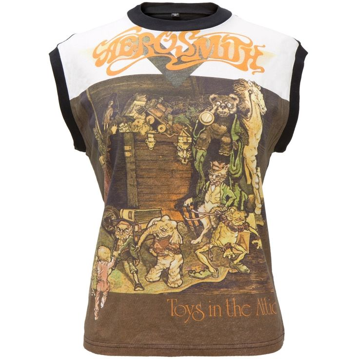 Aerosmith - Toys In The Attic Sleeveless Juniors T-Shirt