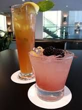 Enjoy a refreshing beverage in Spencer's Resto Lounge, located in the Delta Vancouver Suites Hotel.