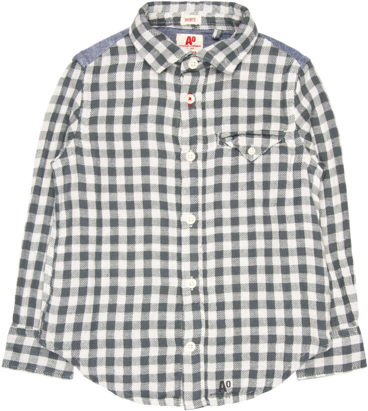 Shop The American Outfitters Boys Tom Shirt In Blue At Elias