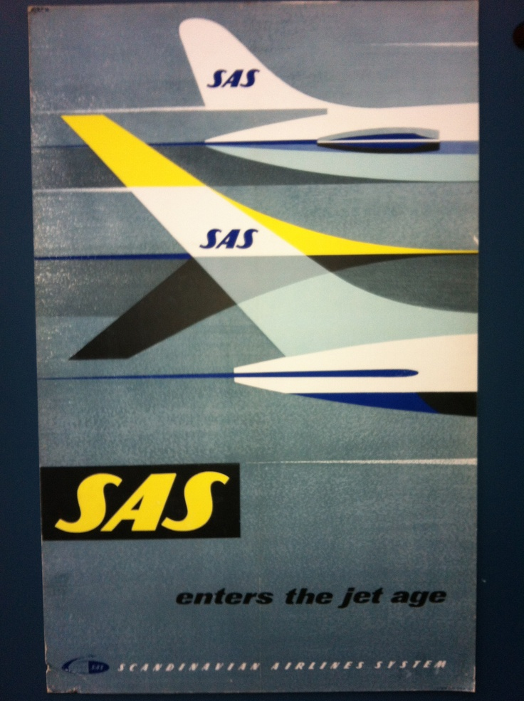 SAS enters the jet age