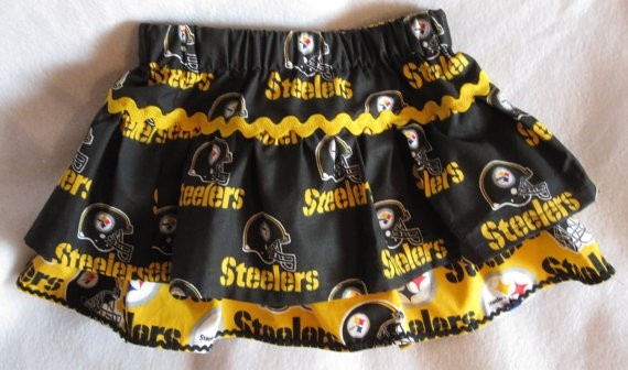 Pittsburgh Steelers Skirt sewing-projects