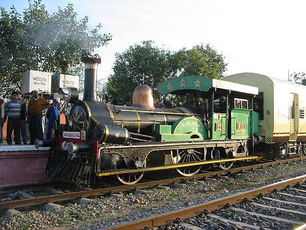 One of the oldest Steam Locomotives with Indian Railways