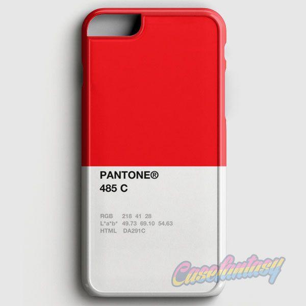 Pantone 485 C iPhone 6/6S Case | casefantasy