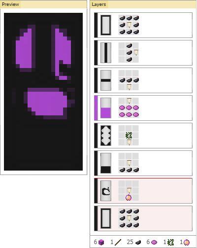 как сделать цифры на флагах в майнкрафт #6