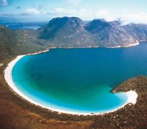 Freycinet Peninsula Tasmania, Australia. This place is even more beautiful than it looks.