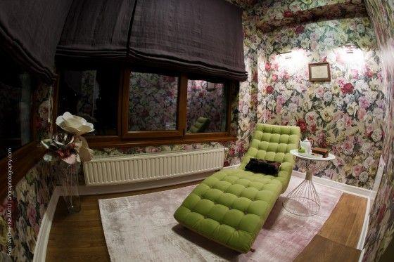 art wall, interior design, flowers decoration