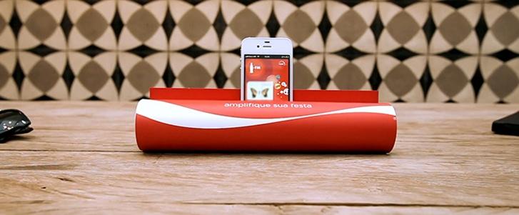 Coca Cola ipod standaard