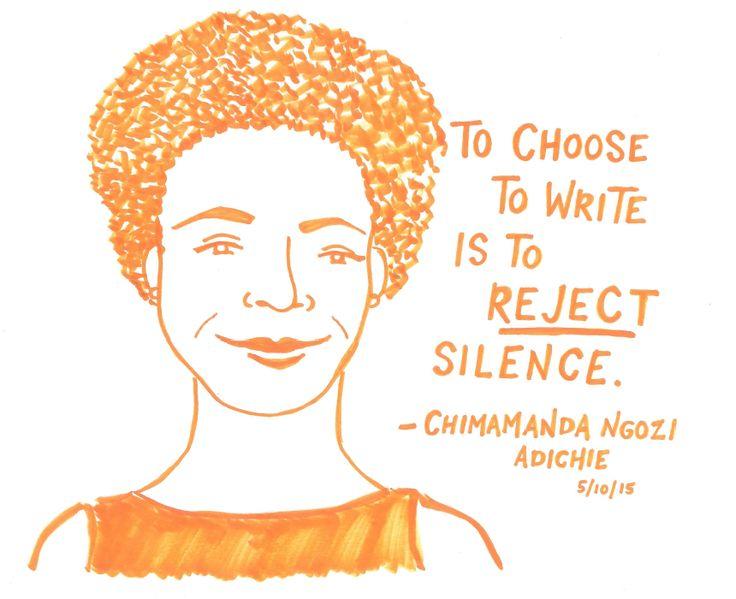 Chimamanda Ngozi Adichie at the PEN World Voices Festival, 5/10/15
