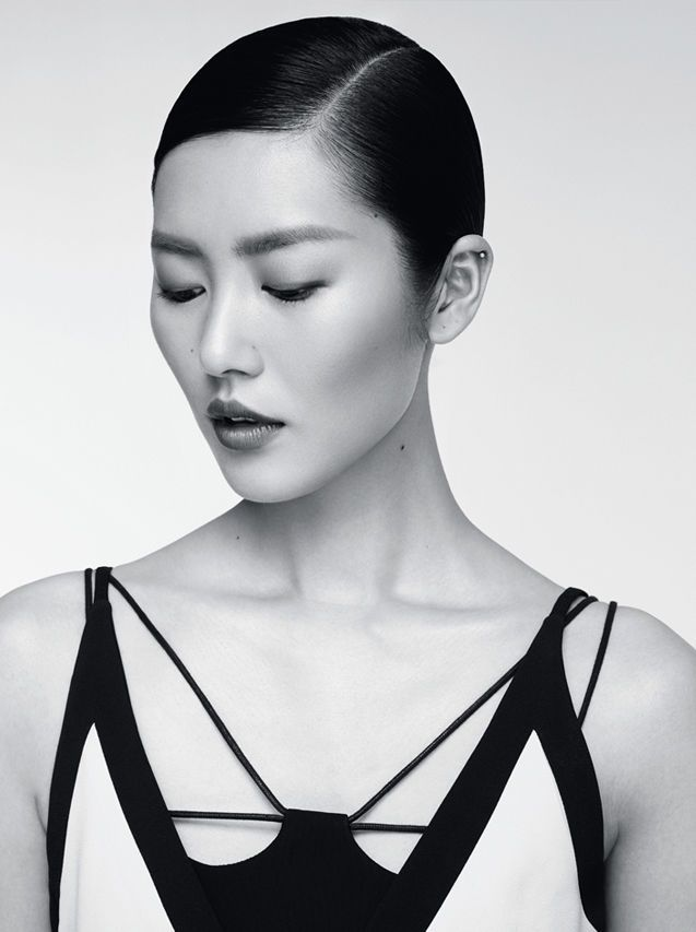 Liu Wen Pose on Marie Claire China December 2015 issue Photoshoot