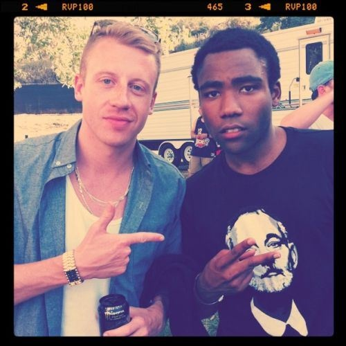 Macklemore & Abed // Ben Haggerty & Donald Glover
