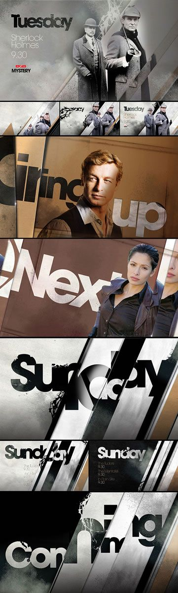 TV SERIES. NICE MOTION DESIGN. http://abduzeedo.com/cutting-edge-work-2veinte