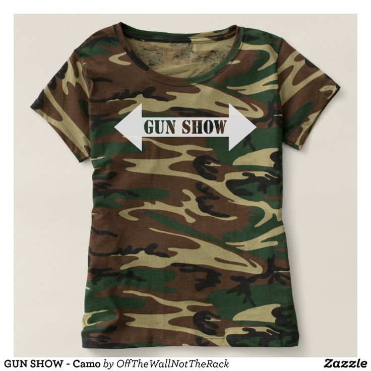 GUN SHOW - Camo T-shirt