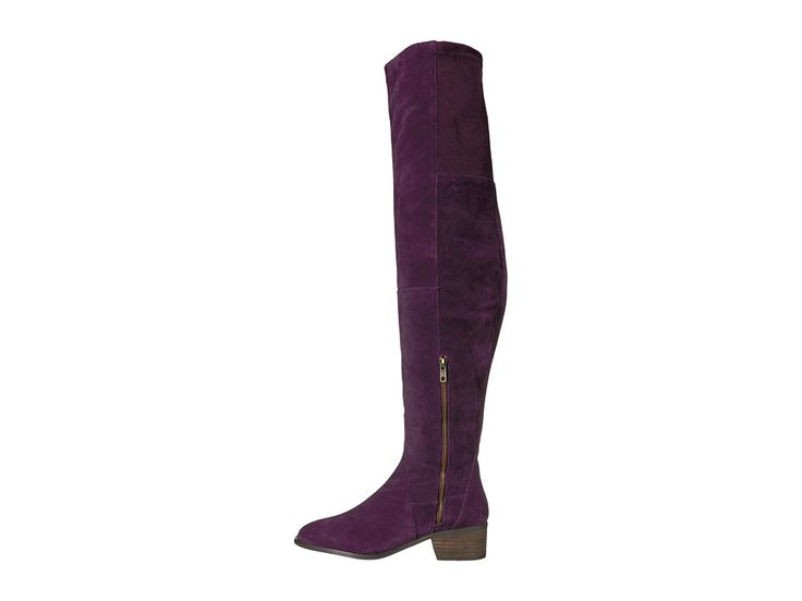 Free People Everly Tall Boot Women's Boots Purple