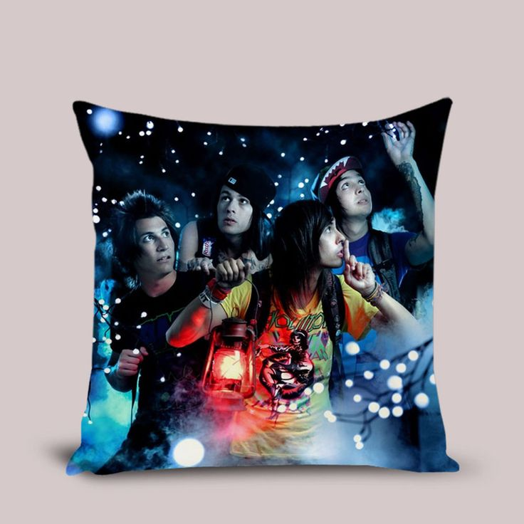 Pierce The Veil Pillow Cover Throw Pillowcase 16x16 18x18 20 inches Cushion Case #Handmade #TwinSides