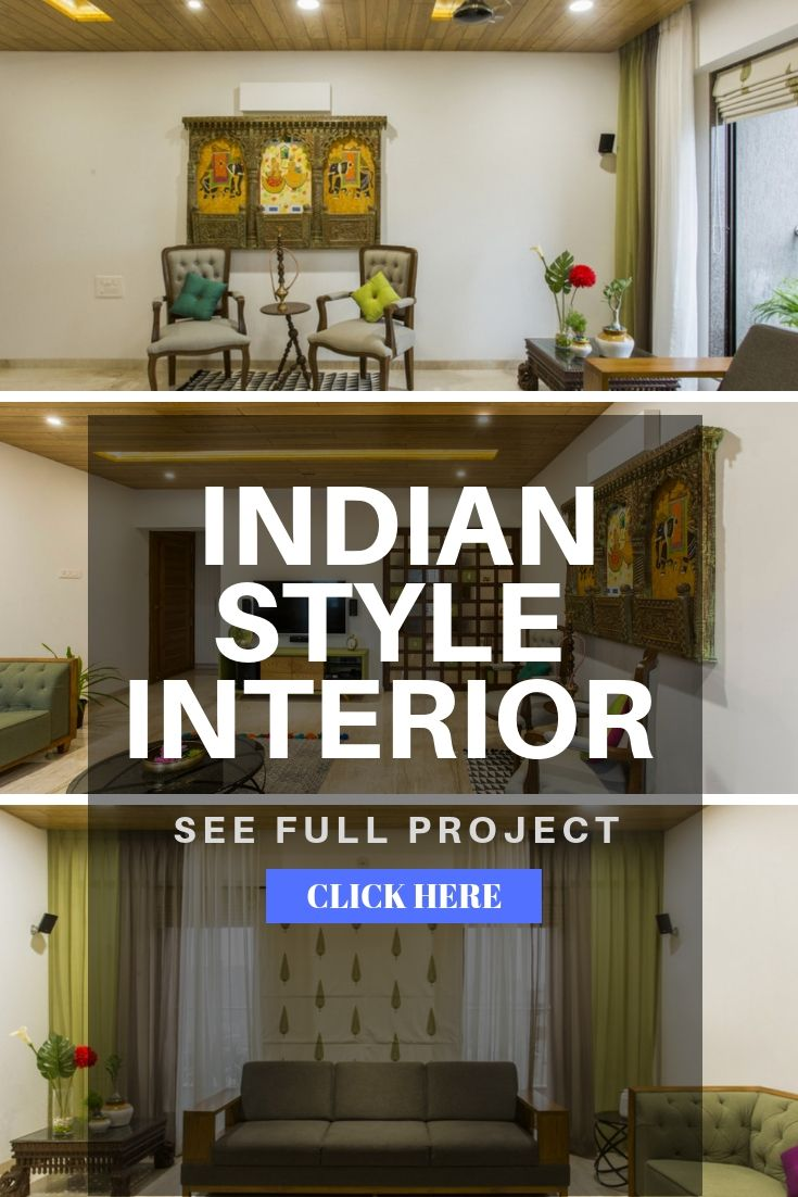 Fusion Of Modern And Traditional House Atelier Interiors The Architects Diary Traditional House Interior House Interior Decor