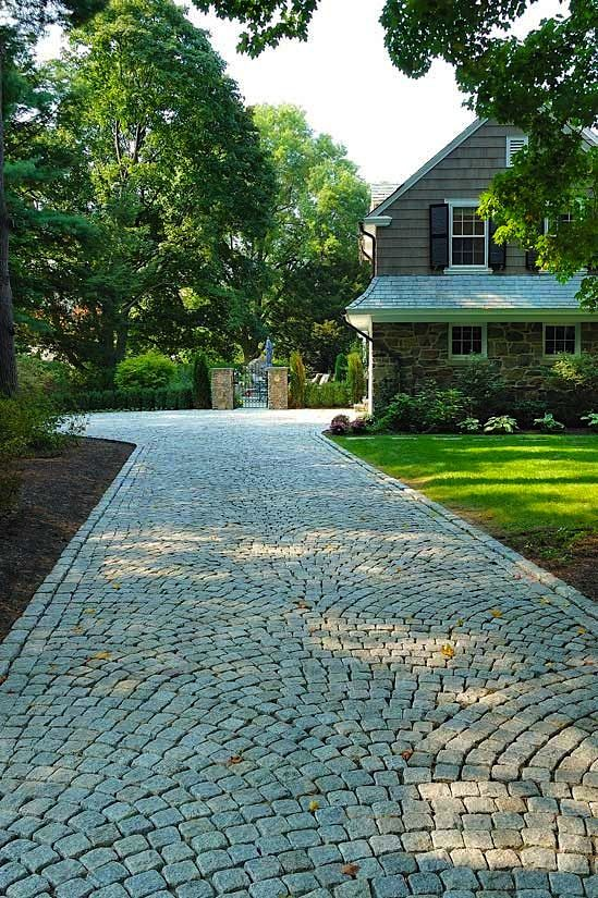 17 best images about driveway designs on pinterest for Soft landscaping ideas