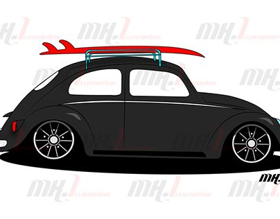 """Check out new work on my @Behance portfolio: """"Surf bug"""" http://be.net/gallery/57721923/Surf-bug"""