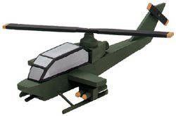 Bulk Buy: Darice Wood Model Kit Attack Helicopter 9178-95