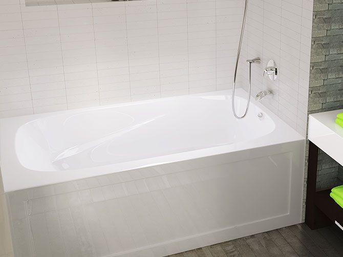 1000 Images About Small Bath Modern Tubs On Pinterest