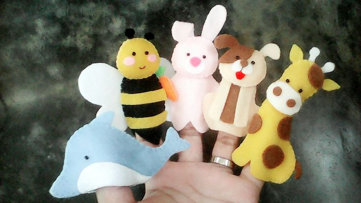 Animals @18.000,00 / paket isi 5 boneka