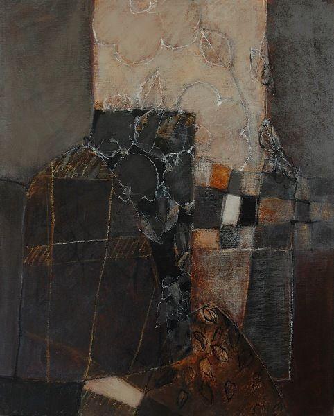 des lignes et des couleurs: VII - 100x81 - huile sur toile