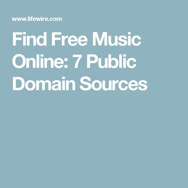 Find Free Music Online: 7 Public Domain Sources
