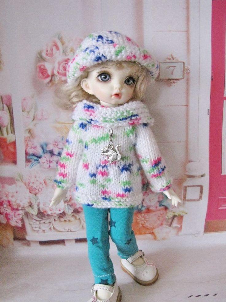 3 Pcs autfit for 1/6 bjd fairyland LittleFee Bisou