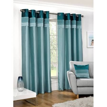 teal curtains - Google Search