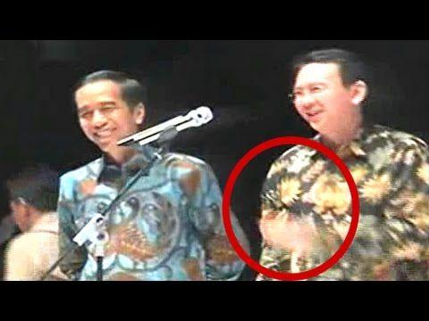 Kocak, Ahok Goda Jokowi Saat Acara Pamit Perpisahan Dengan RT Lurah Cama...