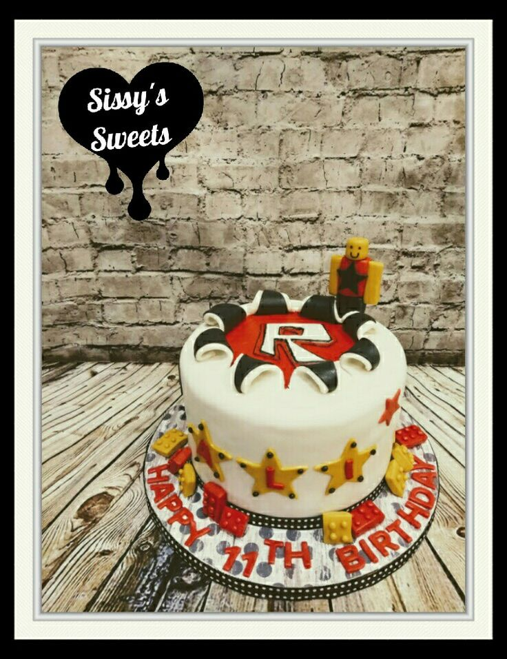 The 25 Best Roblox Cake Ideas On Pinterest Roblox