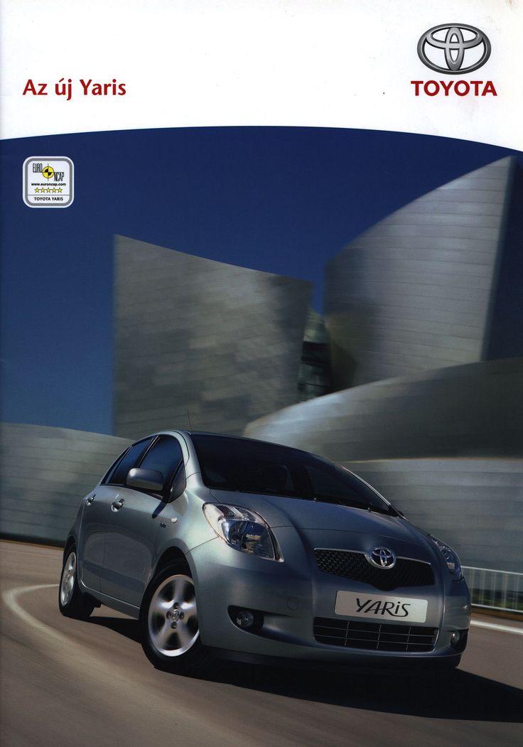 https://flic.kr/p/Eq9C4T | Toyota Yaris, Az új; 2006_1 | auto car brochure | by worldtravellib World Travel library