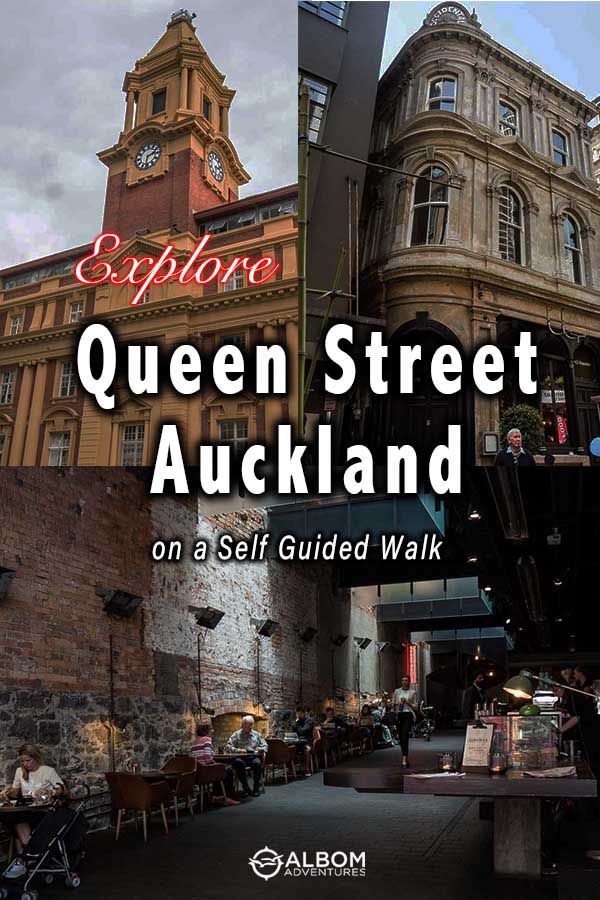Queen Street Auckland Self Guided Walk Uncovers Quirky Facts