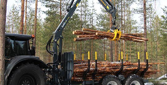 Junkkari P5785 metsäkuormain | Junkkari Oy Ylihärmä