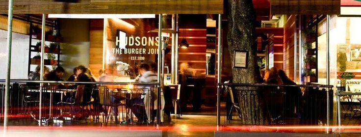 Hudsons Burger Joint, Kloof Street, Cape Town, Just around the corner from our hostel
