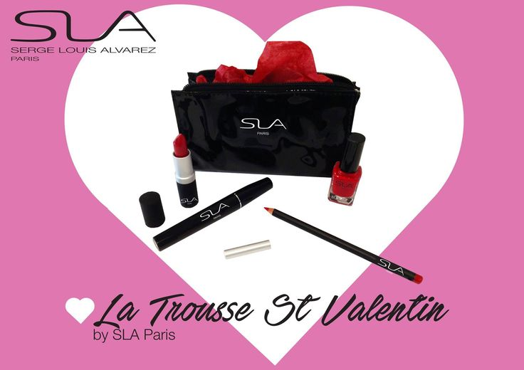 Trousse St Valentin  by SLA Paris