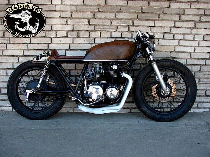 rafal rodents rat-rod honda cb550 | motorcycles | pinterest