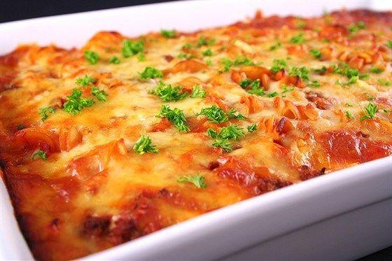 Рецепт лазаньи от Эктора Хименеса Браво - Кулинарная книга семьи Мохамед Шариф.