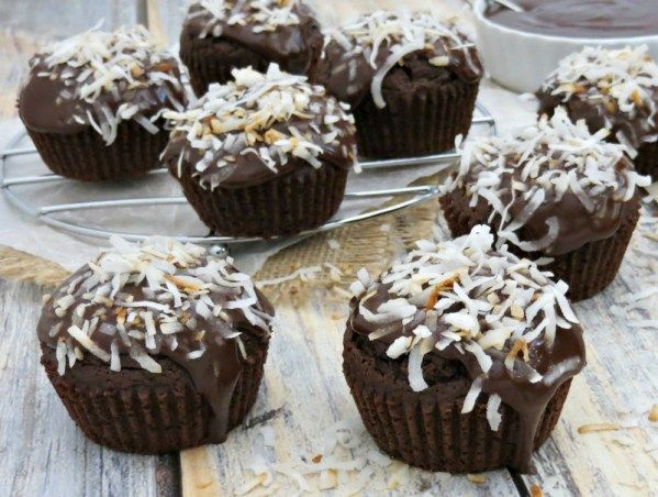 Two of my favorite things in the world, chocolate and coconut combined into these delicious chocolate coconut cupcakes. A dream treat for this mom. #cupcakes #chocolate #coconut #recipe #dessert