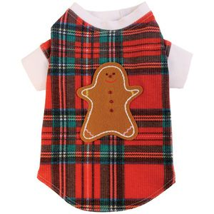 Sugar & Spice Thermal - Christmas morning has never looked cuter! #dogproducts #dogsupplies #dogapparel #dogclothes http://BeesCorner.com/sugar-spice-thermal/