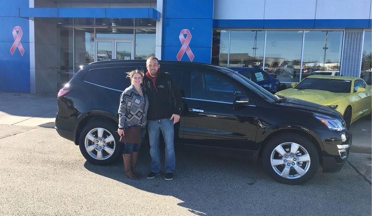 Audra and Stanley, congratulations on your new vehicle!  Welcome to the  Kunes Country Chevrolet Buick GMC Family!