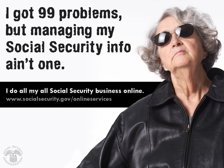 Manage #SocialSecurity info w/out problems online. No #Traffic #BusSchedules #BadWeather etc. www.socialsecurity.gov/onlineservices