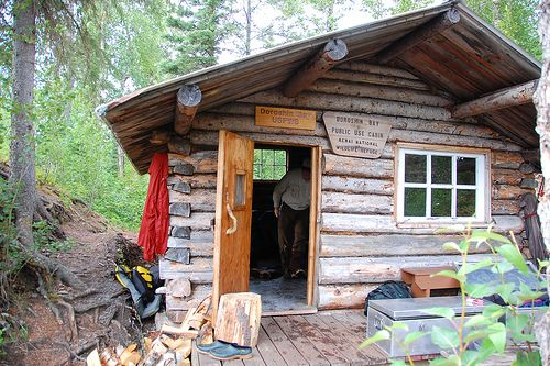 20 best images about log cabin doors on pinterest for Alaska cottage
