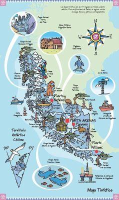 muchos dibujos!!!: Ilustraciones Chile Turístico